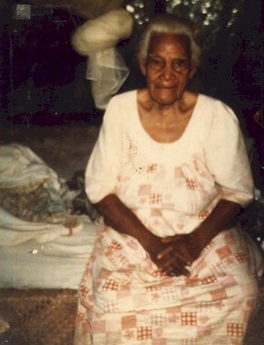 Late Great grandmother Ene Alefaio Auvaa in Savaii, Western Samoa